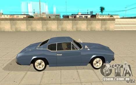 Garanhão do GTA 4 para GTA San Andreas esquerda vista
