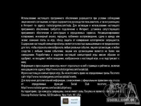 Rachadura para GTA 4 terceira tela