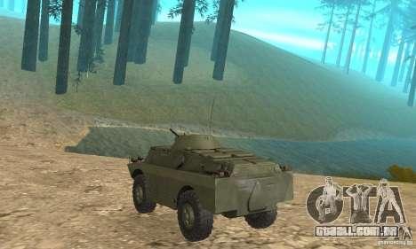 BRDM-2 Standard Edition para GTA San Andreas vista direita