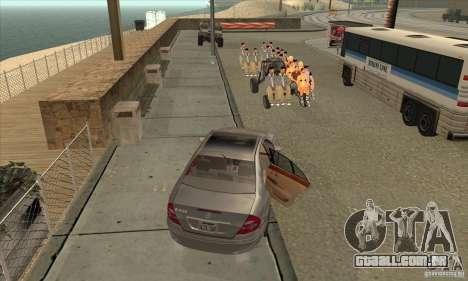 BUSmod para GTA San Andreas décimo tela
