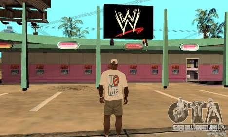 Boné John Cena para GTA San Andreas segunda tela