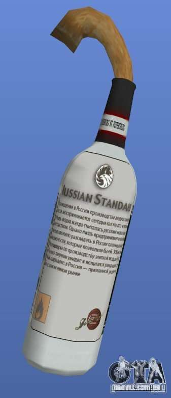 Russian Standard Vodka Molotov para GTA 4 segundo screenshot