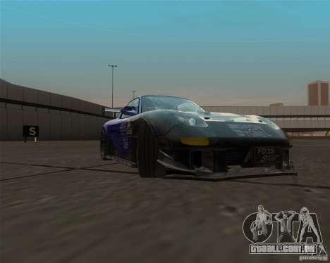 Mazda RX-7 FD3S special type para GTA San Andreas vista traseira