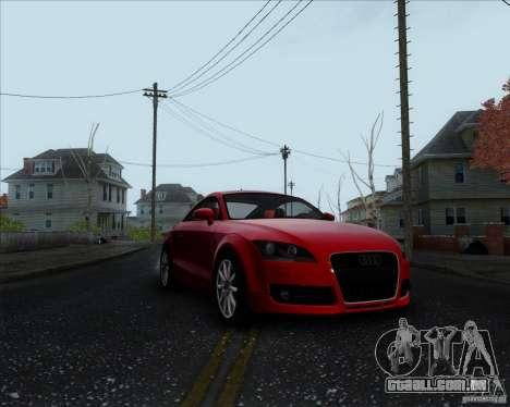 Audi TT para GTA San Andreas esquerda vista