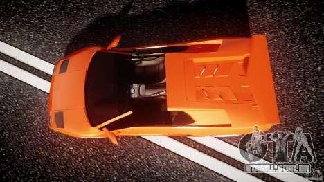 Lamborghini Diablo 6.0 VT para GTA 4 vista direita