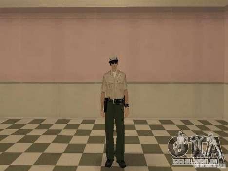 Los Angeles Police Department para GTA San Andreas por diante tela