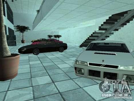 Mais carros a motor show em Dougherty para GTA San Andreas segunda tela