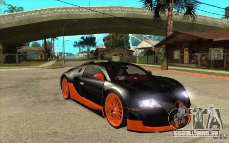Bugatti Veyron Super Sport 2011 para GTA San Andreas