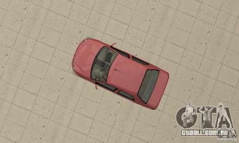 Fiat Siena HLX 1.8 Flex para GTA San Andreas traseira esquerda vista