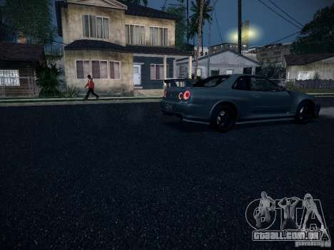 Nissan Skyline Z-Tune para GTA San Andreas vista interior