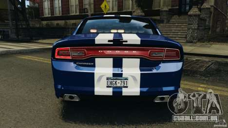 Dodge Charger Unmarked Police 2012 [ELS] para GTA 4 rodas