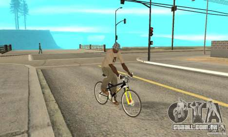 KTM Bike beta para GTA San Andreas vista direita