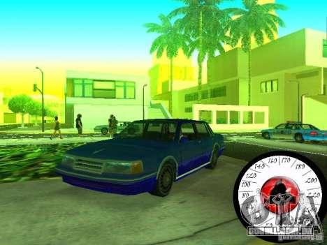 Nova Cpidometr para GTA San Andreas segunda tela