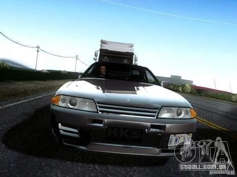 Nissan Skyline GT-R R32 1993 Tunable para GTA San Andreas vista direita