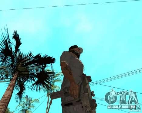 Mini-Uzi para GTA San Andreas segunda tela