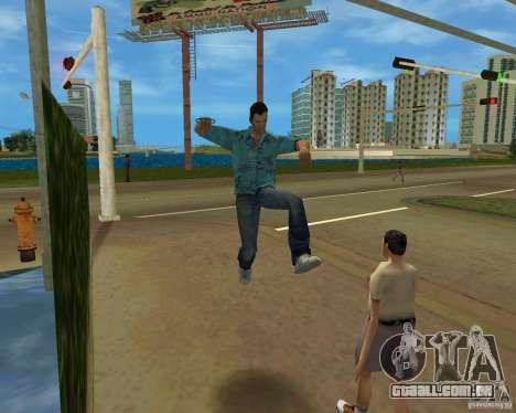 Animação de TLAD para GTA Vice City por diante tela