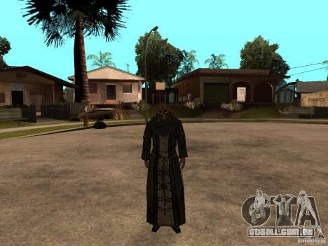 Personagens de Pak atualizadas do Resident Evil  para GTA San Andreas por diante tela