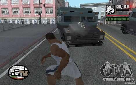 Jogando pás para GTA San Andreas
