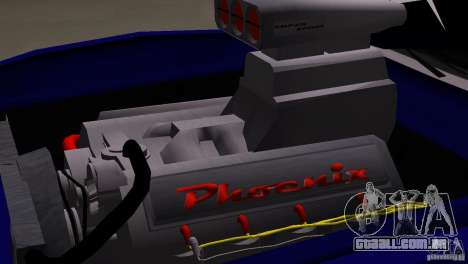 New Phoenix para GTA San Andreas vista direita