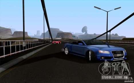 Audi S5 Cabriolet 2010 para GTA San Andreas vista direita