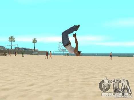 Parkour 40 mod para GTA San Andreas segunda tela