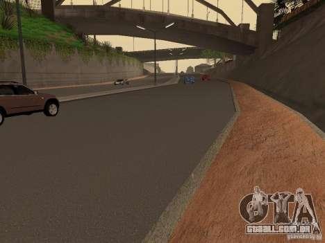 Novas estradas na Grove Street para GTA San Andreas terceira tela