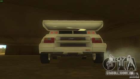 Citroen BX 4TC para GTA San Andreas vista direita