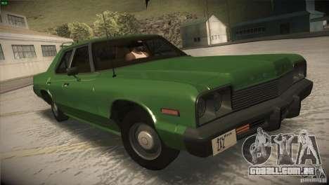 Dodge Monaco para vista lateral GTA San Andreas