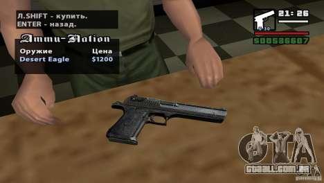 Montagem de HD para GTA San Andreas por diante tela