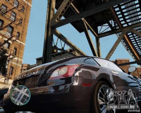 2007 Chrysler Crossfire para GTA 4 vista direita