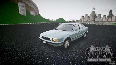 BMW 535i E34 para GTA 4