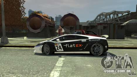 Lamborghini Gallardo SE Threep Edition [EPM] para GTA 4 vista inferior