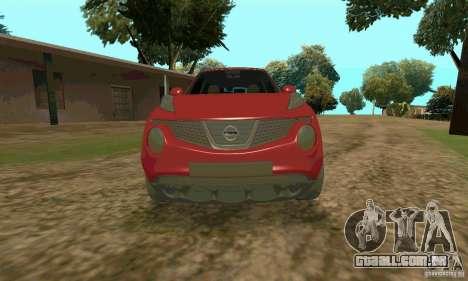 Nissan Juke para GTA San Andreas vista direita