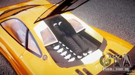 Mc Laren F1 LM v1.0 para GTA 4 vista de volta