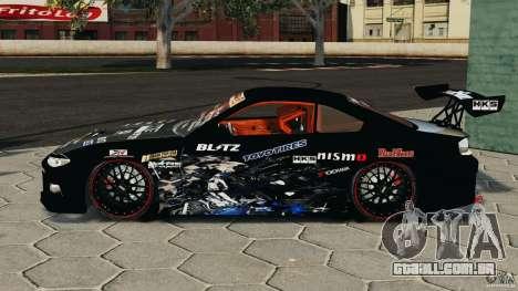 Nissan Silvia S15 HKS para GTA 4 esquerda vista