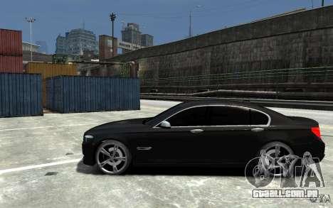 BMW 750 LI F01 v1.3 para GTA 4 esquerda vista