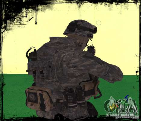 Soldado de infantaria dos Estados Unidos para GTA San Andreas segunda tela