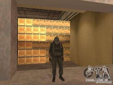 Dušman 2 do COD4MW para GTA San Andreas quinto tela