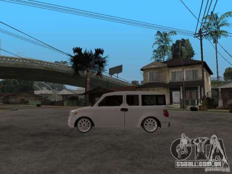 Honda Element para GTA San Andreas esquerda vista