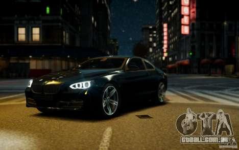 BMW 640i F12 para GTA 4 vista direita