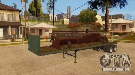 Rede de arrasto para vista lateral GTA San Andreas