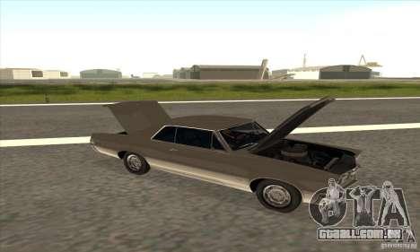 Pontiac GT-100 para GTA San Andreas vista traseira
