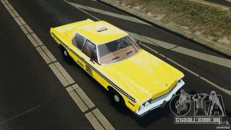 Dodge Monaco 1974 Taxi v1.0 para GTA 4 motor