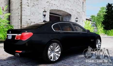 BMW 750Li para GTA 4 vista direita