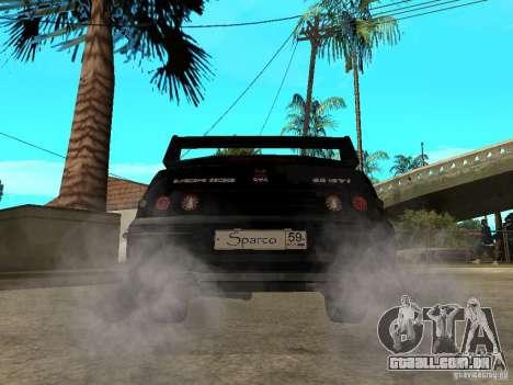Ajuste de Penza VAZ 2110 para GTA San Andreas traseira esquerda vista