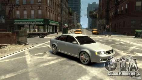 Audi RS6 2003 para GTA 4 vista direita