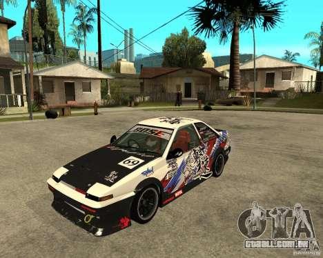 Yoshikazu AE86 para GTA San Andreas