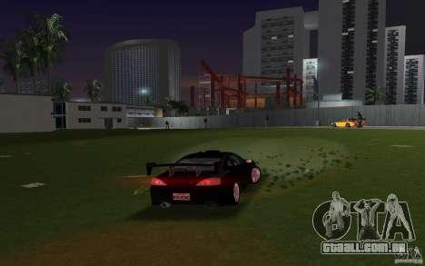 Nissan Silvia spec R Tuned para GTA Vice City vista traseira esquerda