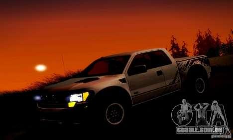 Ford F-150 SVT Raptor V1.0 para o motor de GTA San Andreas
