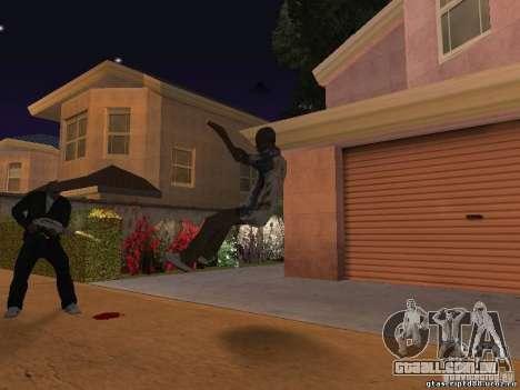 O efeito de tiro perto para GTA San Andreas